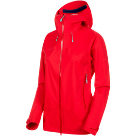 Mammut Kento HS Hooded Jacket Women ruby